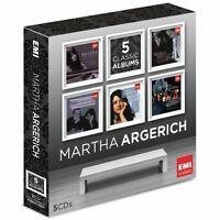MARTHA ARGERICH - MARTHA ARGERICH 5 CD NEU CHOPIN/SCHUMANN/PROKOFIEFF/BEETHOVEN