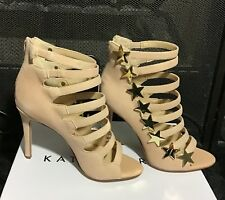 21487aac46d6 Katy Perry Womens The Stella Suede Natural Beige Blush High Heels Shoes  Size 7M