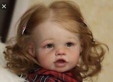 New Reborn Baby Doll Kit ELORA by JANNIE DE LANGE Untouched Kit