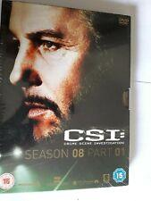CSI LAS VEGAS SEASON 8 PART 1 EPISODES 1-8 +EXTRAS DVD NEW SEALED UK REGION 2