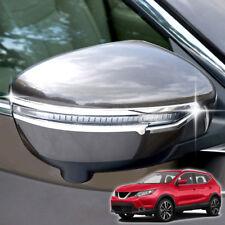 For Nissan Rogue Sport Qashqai J11 14-2018 Chrome Side Mirror Cover Trim Molding