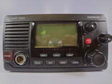 Garmin VHF 200 Series Two-Way Marine Radio Transceiver Unit No Microphone