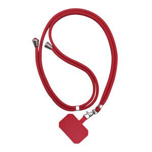 Universal Crossbody Nylon Patch Phone Lanyards New Hanging Neck Soft Rope New