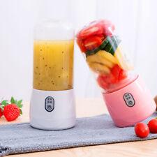 400ML Portable Blender USB Rechargeable Fruit Juicer Cup Mixer Squeezers Outdoor