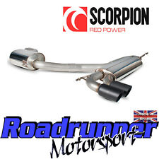 "Scorpion Golf GTI MK5 Exhaust 3"" Stainless Cat Back Sys Resonated Quieter Black"