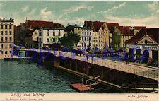Architektur/Bauwerk Ansichtskarten vor 1914 mit dem Thema Brücke
