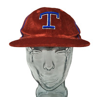 American Needle Texas Rangers Baseball Cap MLB Cooperstown Red Fitted Size 7 1/4