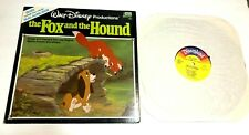 Walt Disney Productions The Fox And The Hound Lp & Booklet Vg+