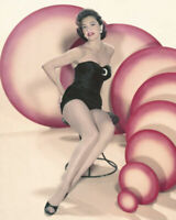 CYD CHARISSE BAREFOOT PIN UP LEGGY VINTAGE POSE 8x10  Photo