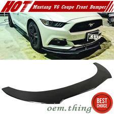 Carbon For Ford Mustang GT V6 2017 OE Model Front Bumper Lip Spoiler New