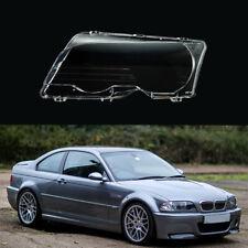 Right Headlight Lens Cover For BMW 3 Series E46 325Ci 330Ci 2000-2003/M3 00-2006