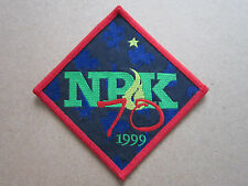NPK 70 1999 Woven Cloth Patch Badge Boy Scouts Scouting