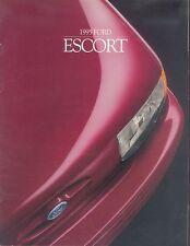 Ford Escort Prospekt USA 1995 brochure Auto PKWs Autoprospekt Broschüre Amerika