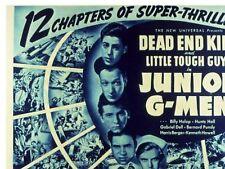 Junior G-Men - Classic Cliffhanger Serial Movie DVD Dead End Kids