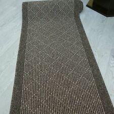 """Modern und stabil ! Teppich Läufer """"TIM KRETA braun"""" 100 cm breit rutschfest"""