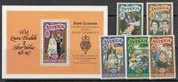 Antique Vintage Mail Yvert 467/71 + Hb 31 MNH Visit Real