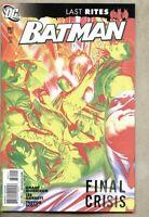 Batman #682-2008 vf/nm 9.0 DC Comics Alex Ross Standard Cover RIP Grant Morrison