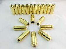 20/pcs GOLD HEAVY DUTY 12X1.5 Stainless Steel Extended LUG NUTS THREAD