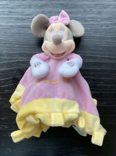 New listing Disney Store Baby Girl Minnie Mouse Pink Yellow Security Blanket