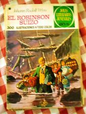 Comic Joyas literarias ptas 30 Rudolf Wyss El robinson suizo Numero 23