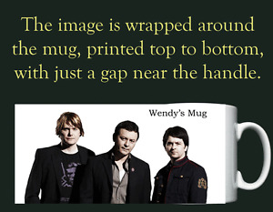 The Manic Street Preachers - Manics - Personalised Mug / Cup