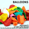 "12"" LARGE LATEX HELIUM BALOON HIGH QUALITY BALLOONS FOR PARTY WEDDING BIRTHDAY"