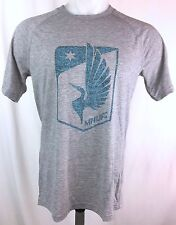 "Minnesota United FC Adidas Mens ""Fabrication"" Climalite T-Shirt S M"