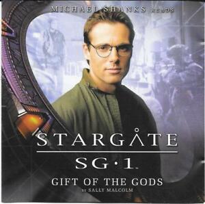 Big Finish Stargate SG1 Gift Of The Gods Michael Shanks Audio CD