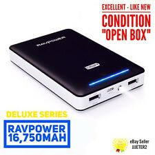 RAVPower 16750mAh Portable Charger USB External Battery Pack RP-PB19 Cell Phones