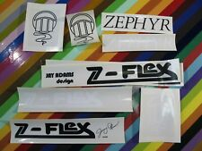 new 1970s Z Flex skateboards sticker - resto graphics for Adams Plummer Zephyr