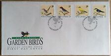 S'pore FDC Garden Birds 18.9.1991