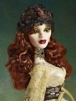 Tonner Wilde Evangeline Ghastly ~ Gothic Lace Parnilla Hat & Armbands ONLY