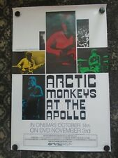 Original Arctic Monkeys 2008 Live at Apollo Record Promo Poster Domino Vinyl DVD