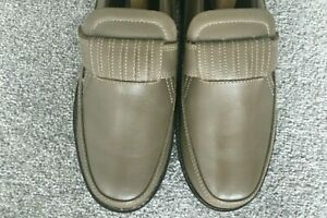 The Shoe Tailor Men's Leather Shoe Taupe Size 9