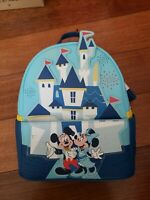 Mickey and Minnie Mouse Mini Backpack Loungefly Disneyland 65th Anniversary