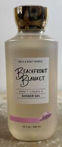 NEW Beachfront Blanket 10 oz Shower Gel Bath & Body Works