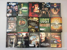 New ListingSci-Fi Tv Show Dvds Firefly Lost Smallville Supernatural Stargate Sg-1 Lot of 15