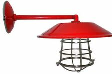 """Red Barn Light Gas Station Light 12"""" Wall Mount Great For Kitchens and Bathrooms"""