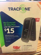 BRAND NEW! TRACFONE ZTE Z232TL 4G LTE Prepaid Flip phone S#II