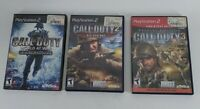 Playstation 2 PSP2 Call Of Duty 3 Disk Set