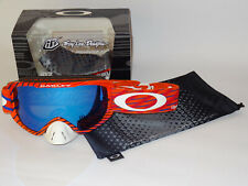 Oakley O2 MX Goggle TLD Signature Tremor pol.orange/black ice iridium/clear rare