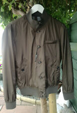 Men's Massimo Dutti Foldable Bomber LW Jacket - Size 36 / S - Khaki Green