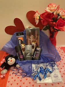 Mens Bath Body Fathers Day Gift Basket For Dad Him Plush Chocolates Cologne