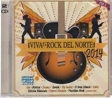 SEALED Viva El Rock Del Norte 2014 CD Zoe Kinky - Control - Machete Molotov NEW