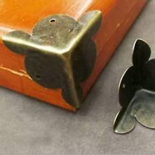 10pcs Antique Furniture Metal Corners Jewelry Box Case Corner Protector