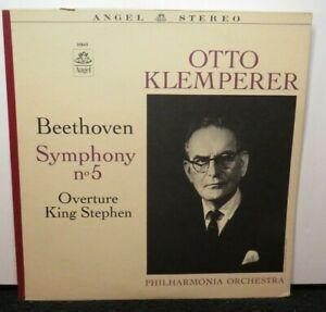 OTTO KLEMPERER BEETHOVEN SYMPHOMY NO.5 KING STEPHEN (NM) 35843 LP VINYL RECORD