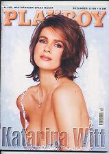 PLAYBOY-DEZEMBER 1998-damals noch in DM-KATARINA WITT-(2)-EROTISCHE BILDER-12/98