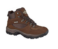 Mens Northwest Territory Hiking Walking Waterproof Real Leather Shoes Size 6-13