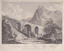 Salerno, Paestum, 1781-1786 Saint-Non acquaforte