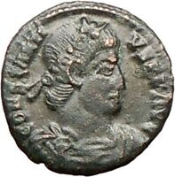 Constantius II Constantine the Great son Ancient Roman Coin Victories   i27865
